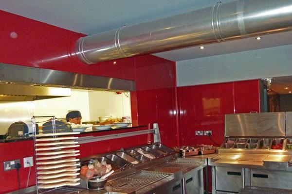 Interior: Food Prep & Storage