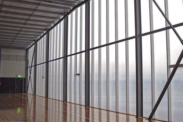 Polycarbonate Panel Facade Amp Curtain Walls Palram Americas